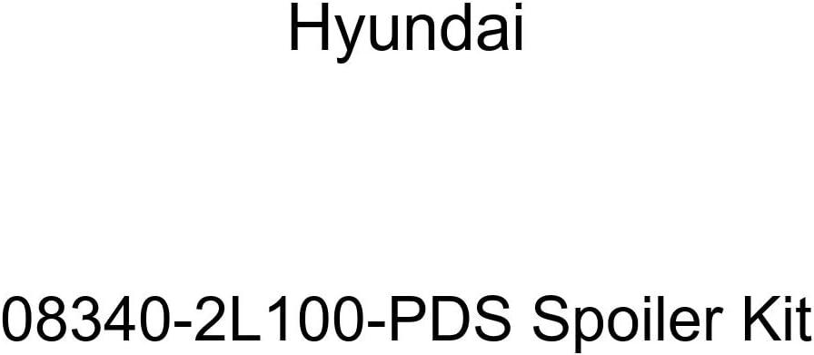 Genuine Hyundai 08340-2L100-PDS Spoiler Kit
