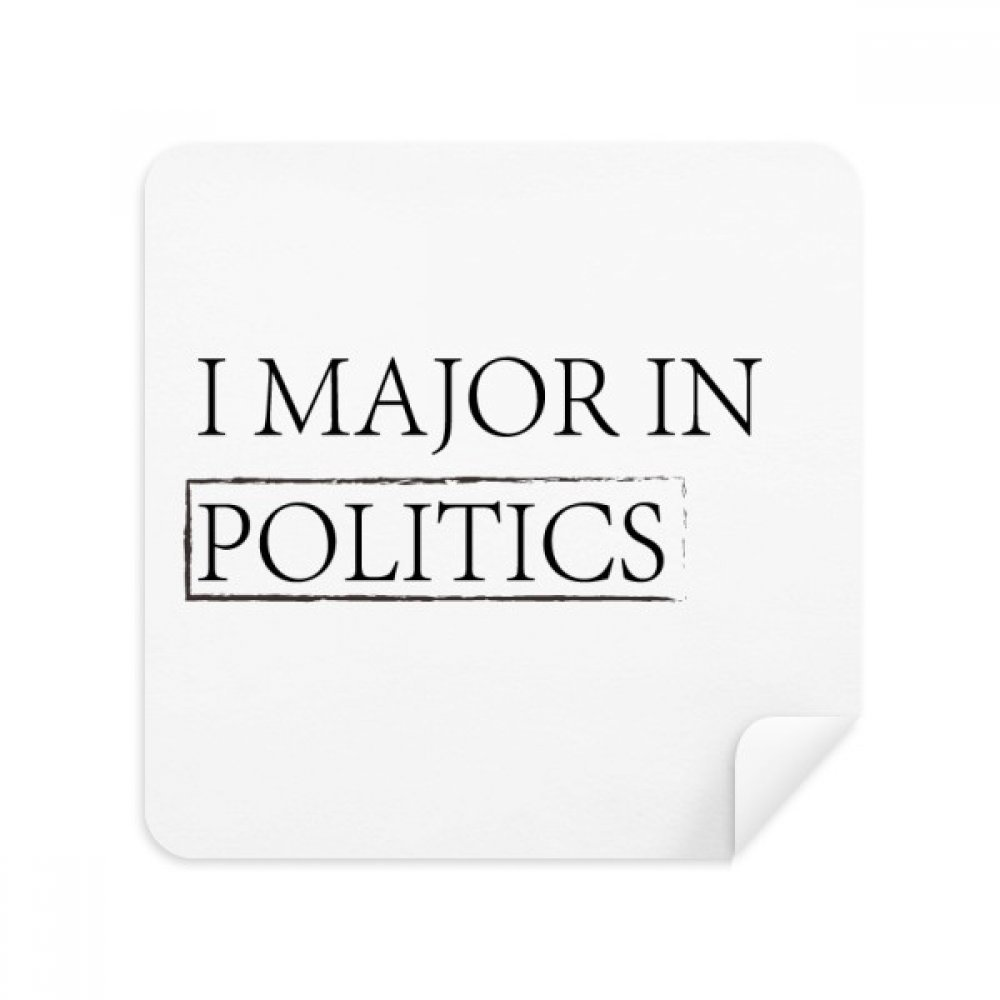 Quote I Majorの政治メガネクリーニングクロス電話画面クリーナースエードファブリック2pcs   B07C95PSFB