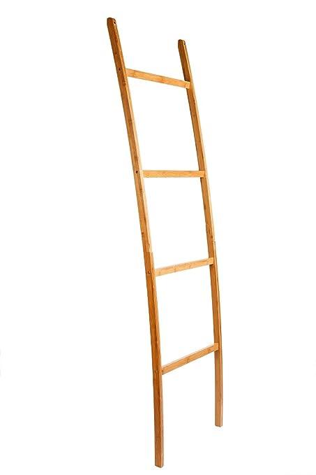 Toalla Escalera – Toallero de bambú 4 barras