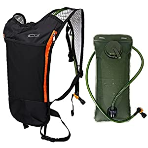 Baen Sendi Hydration Pack with 2L Backpack Water Bladder Great for Outdoor Sports of Running Hiking Camping Cycling Skiing