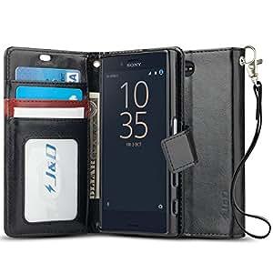 xperia x compact case j d wallet stand. Black Bedroom Furniture Sets. Home Design Ideas