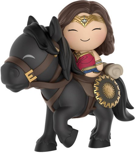 Wonder Woman Vinyl - Funko Dorbz Ridez Wonder Woman on Horse Collectible Vinyl Figure