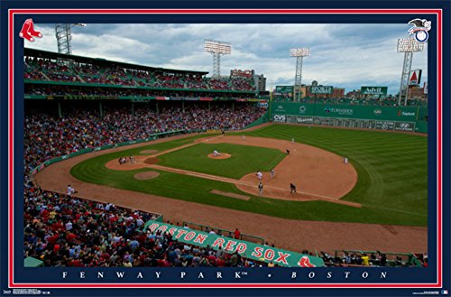 Boston Red Sox- Fenway Park Poster 34 x 22in