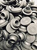 Self Healing Rubber Injection Ports (24 stoppers) 20mm Rubber Bottle Stoppers (Steam Sterilization Safe) for sealing 1/2 inch or 13mm opening