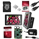 "NEEGO Raspberry Pi 3 Ultimate Starter Kit – Complete Set Includes Raspberry Pi 3 Model B Motherboard, 7"" Touchscreen Display, Power Supply, 16GB SD Card, 2 Heatsinks, Official Case & 6ft HDMI Cable"
