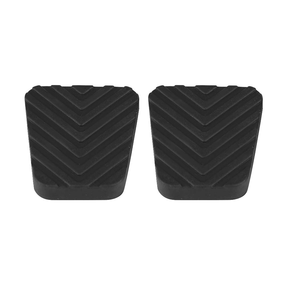 KIMISS 2Pcs Clutch Brake Pedal Rubber Cover for HYUNDAI Accent Elantra Scoupe Tiburon Getz 3282524000