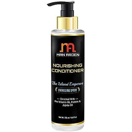 Acondicionador de pelo hombre Arden con Pro vitamina B5, proteínas y aceite de jojoba 200