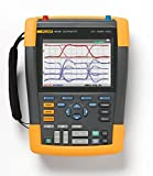 Fluke 190-502/S Color ScopeMeter, 500 MHz, 2 Channels Plus DMM/Ext.Input with Software & Carrying Case