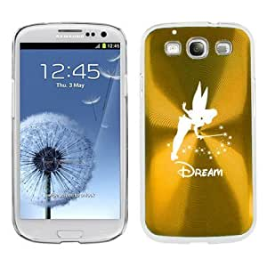 Yellow Gold Samsung Galaxy S III S3 Aluminum Plated Hard Back Case Cover K372 Fairy Dream