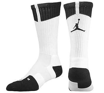 Tripulación Nike Air Jordan DriFit 530977 100 hombres baloncesto calcetines XL: Amazon.es: Deportes y aire libre