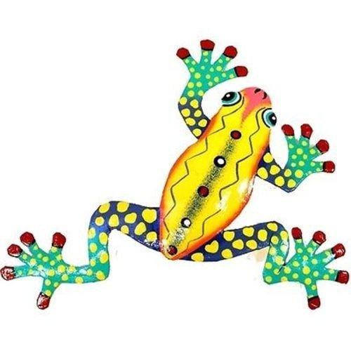 Metal Yellow Frog