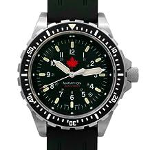 MARATHON WW194018MPL Swiss Made Military Issue Milspec Jumbo Diver's Maple Leaf LGP JSAR Watch with MaraGlo Illumination Canada