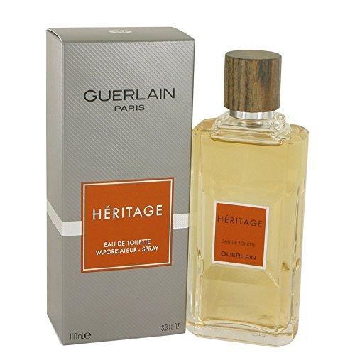 Heritage By GUERLAIN FOR MEN 3.4 oz Eau De Toilette Spray