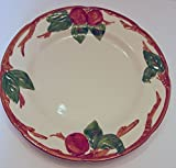 Franciscan Ware Apple Pattern Dinner Plate Backstamp USA 10.5 Inches Diameter