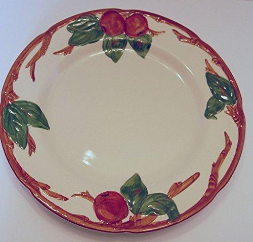 Franciscan Ware Apple Pattern Dinner Plate Backstamp USA 10.5 Inches (Vintage Franciscan Ware)