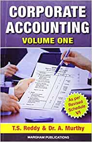 corporate accounting book by reddy and murthy pdf