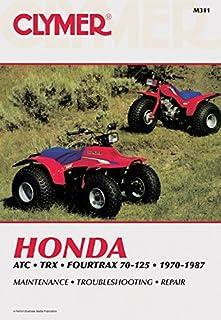 clymer honda atc 185 200 1980 1986 service repair maintenance rh amazon com Honda 3 Wheeler Parts Honda 3 Wheeler Crash