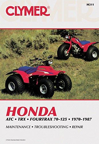 Clymer Honda ATC TRX Fourtrax 70-125, 1970-1987: Maintenance, Troubleshooting, Repair (Clymer All-Terrain Vehicles)