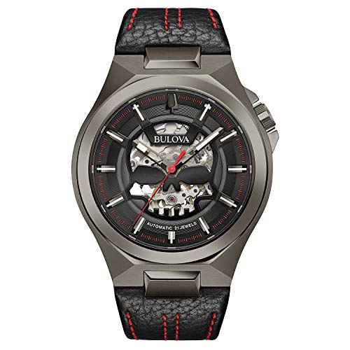 Bulova Classic Automatic Men's Stainless Steel with Black Leather Strap