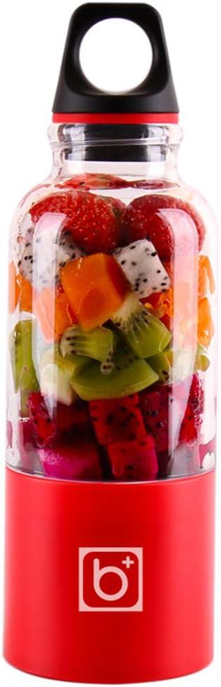 MIJNUX 500Ml Portable Juicer Cup USB Rechargeable Electric Automatic Bingo Vegetables Fruit Juice Tools Maker Cup Blender