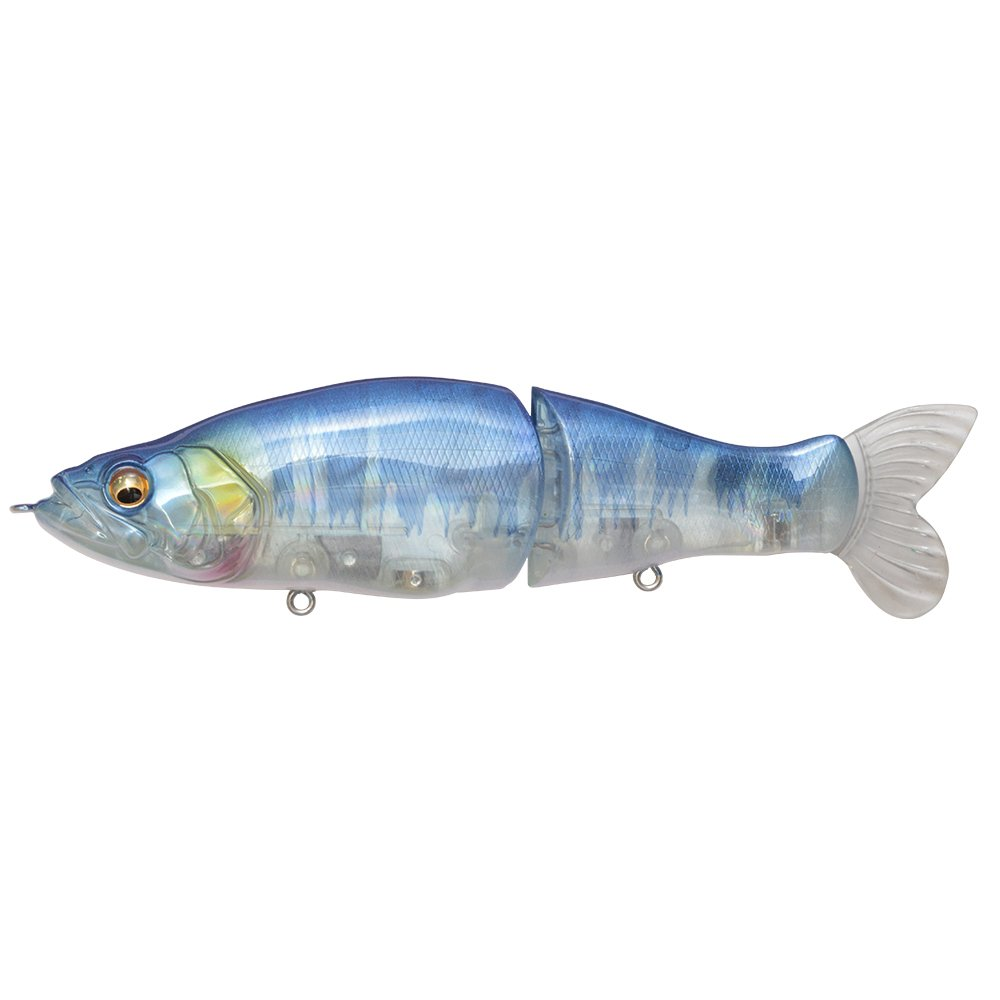 Megabass I-SLIDE 135B Twitch & Slow Retrieve Model Skeleton Blue Hasu by Megabass