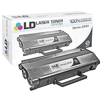 LD Remanufactured Dell 330-4131 (P579K / M797K) Black Toner Cartridge for 2230d Laser Printer