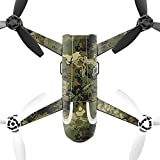MightySkins Protective Vinyl Skin Decal for Parrot Bebop 2 Quadcopter Drone wrap cover sticker skins TrueTimber Viper Woodland