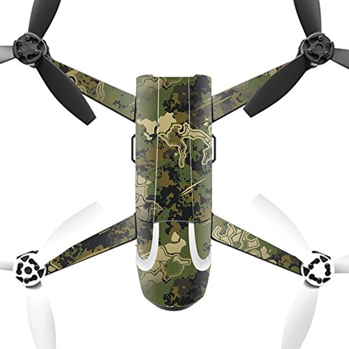 MightySkins Skin for Parrot Bebop 2 - Viper Woodland | Protective, Durable, and Unique Vinyl Decal wrap Cover | Easy to Apply, Remove, and Change Styles | Made in The USA