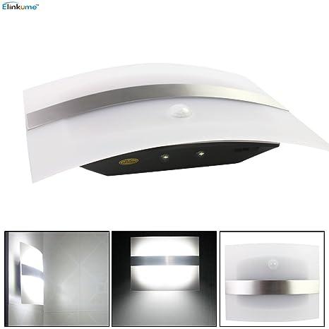 ELINKUME Super brillante batería inalámbrico sensor de movimiento PIR luz, pasillo gabinete luz de noche