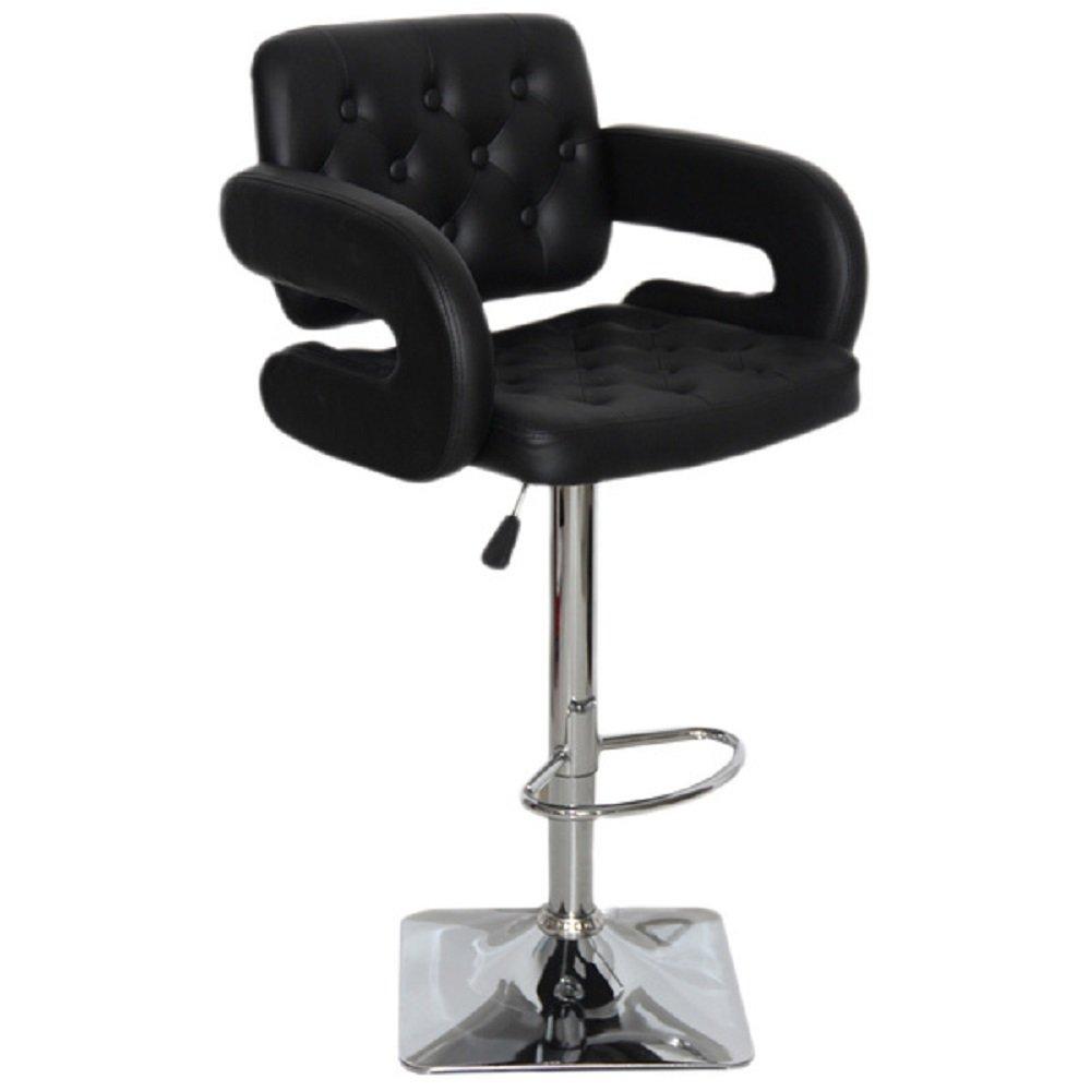 amazoncom us pride furniture olivia adjustable swivel bar stool chocolate kitchen u0026 dining