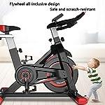 Allenamento-Spin-Bike-Professionale-Cyclette-Aerobico-Home-Trainer-Bici-Da-Fitness-Volano-Inerziale-Regolazione-Della-Velocita-Infinitamente-Variabile-Ghiera-Dati-Lcd