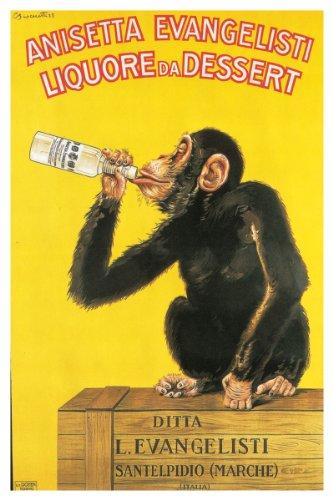 Anisetta Evangelisti, Liquore Da Dessert Poster 24 x 36in