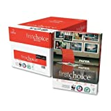 Domtar First Choice Copy Paper - For Inkjet, Laser Print - Letter - 8.50'' x 11'' - 24 lb - 500 / Pack - White