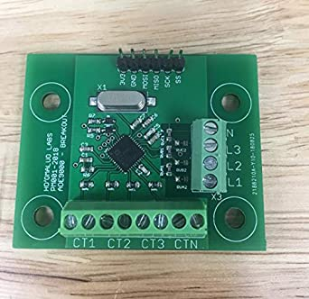 HOOMALUO Single OR 3 Phase Power Monitoring IC Breakout Board - ADE9000