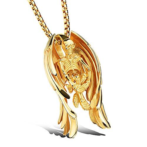 Horn Beads Golden Horn - 6