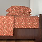 Roostery Western 3pc Sheet Set Chili Cookoff by Eppiepeppercorn Twin Sheet Set made with