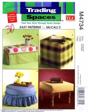 mccalls-trading-spaces-pattern-m4734-ottomans