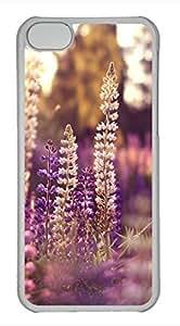 iPhone 5c case, Cute Lavender 5 iPhone 5c Cover, iPhone 5c Cases, Hard Clear iPhone 5c Covers by icecream design