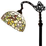 Tiffany Style Reading Floor Lamp Table Desk Standing Lighting Hummingbird W12H64