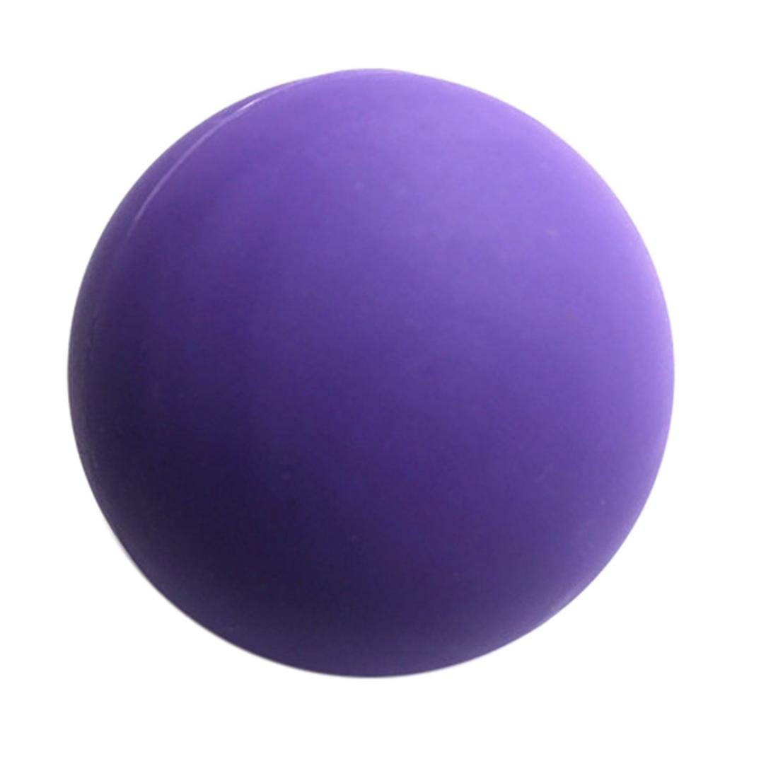 Muscle Massage Ball,Bescita Unique Design Amazing Creative Yoga Balls Help Workout Fitness New Yoga Lacrosse Ball Mobility Myofascial Trigger Point Release Body Massage Ball Creative Fitness Yoga Tool
