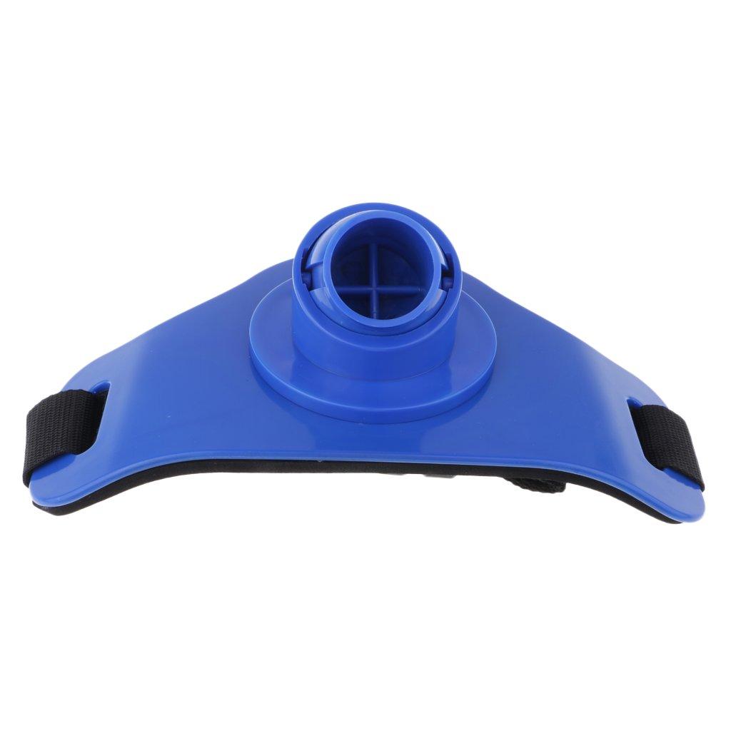 MagiDeal Cintur/ón Soporte Ca/ña Stand Up Portaca/ñas Lucha de Pesca Ajustable Pie Arn/és Titular Barra Cintura Deporte