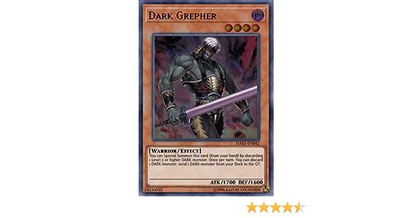 Yugioh Dark Grepher DASA-EN042 Super Rare 1st Edition