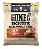 Gone Rogue High Protein Teriyaki Chicken Chips | Low Carb, Gluten Free Snacks | 8 pack