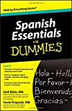 img - for Spanish Essentials For Dummies book / textbook / text book