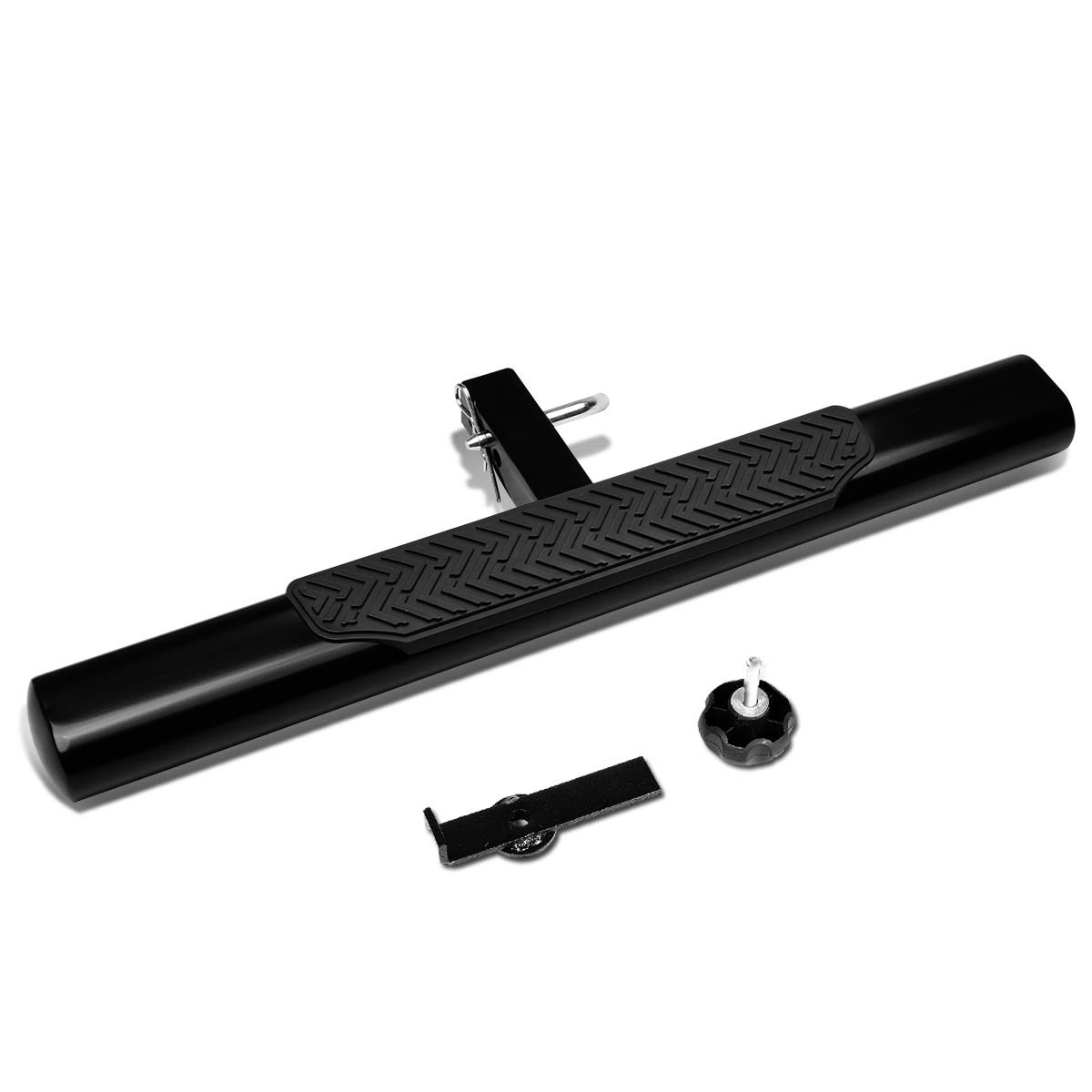 DNA MOTORING HITST-2-4O-111-BK-T2 Class III 4'' Oval Hitch Step by DNA MOTORING