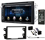 power acoustik wiring harness - 6.5 DVD/CD Player Receiver Monitor w/Bluetooth for 2003-06 Volkswagen Golf