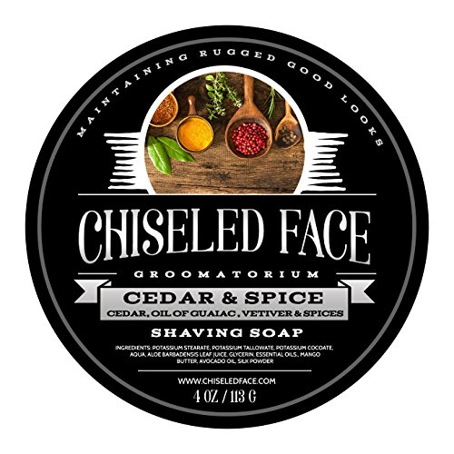 Face Spice (Cedar & Spice - Handmade Luxury Shaving Soap From Chiseled Face Groomatorium)