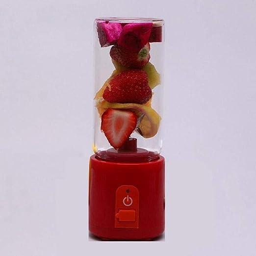 Yqzq Licuadora portátil Exprimidor al Aire Libre Juice Cup Mini ...