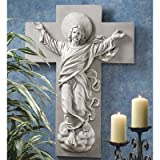 Design Toscano He is Risen Christ Ascension Wall Sculpture