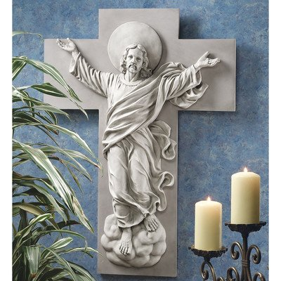 Design Toscano He is Risen Christ Ascension Wall Sculpture by Design Toscano